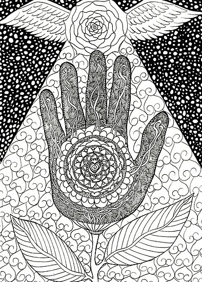 Zentangle by A-aru