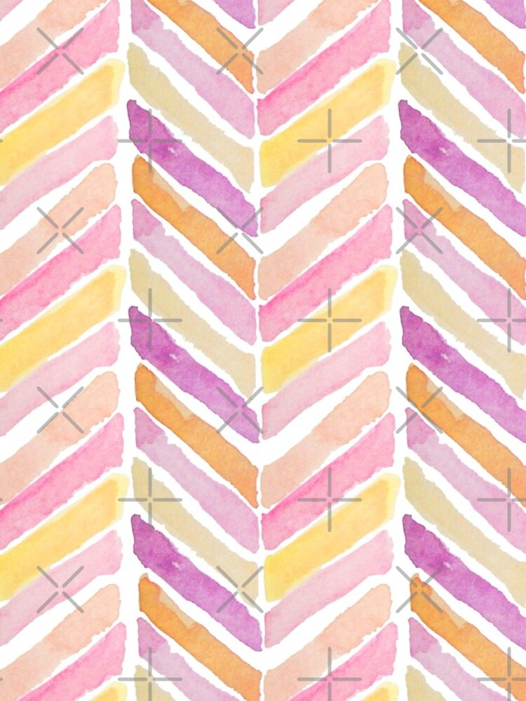 Watercolours soft mosaics by ebozzastudio