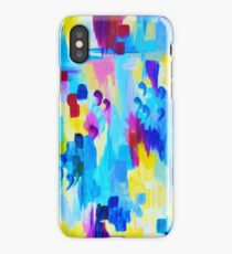 DONT QUOTE ME, Revisited Bold Abstract Acrylic Painting Gift Art Home Decor  iPhone Case