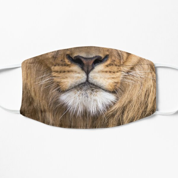 Lion mouth  Flat Mask