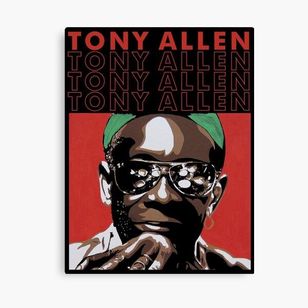 My Brother Tony drum Allen Canvas Print