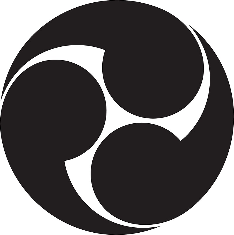 quottomoe japan japanese shinto symbol plain amp simple