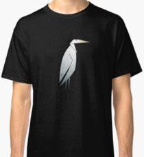 Camiseta clásica Patrón de garza