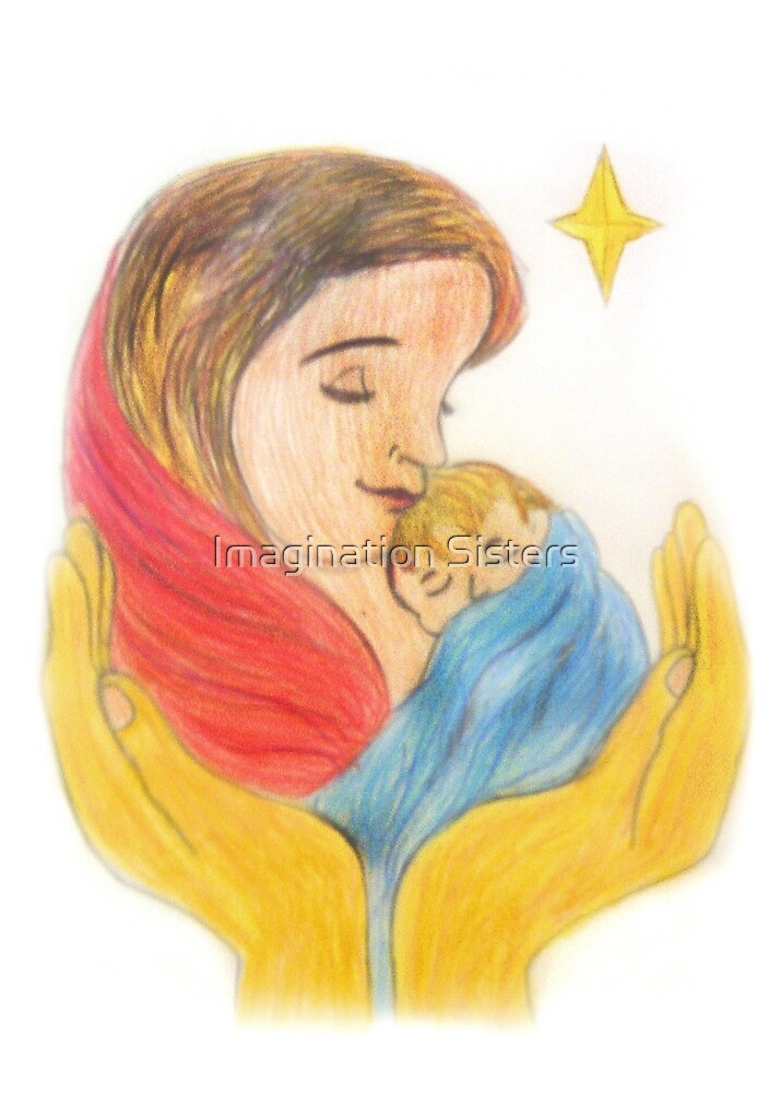 Mary and baby jesus  by tbailey
