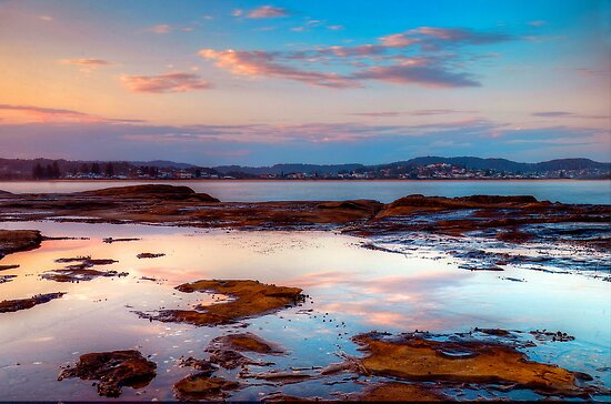Terrigal Haven. (sunset) by Julie  White