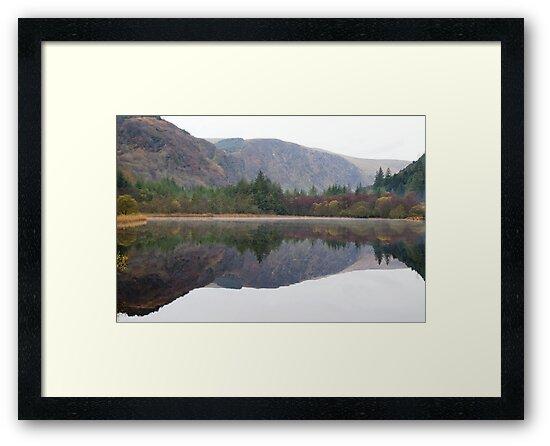 Glendalough lower lake by DES PALMER