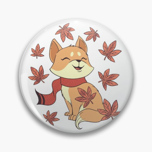 FALL FOX Pin