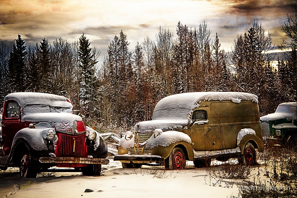 Old Trucks in HDR#8 by peaceofthenorth