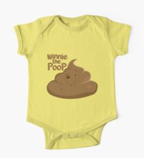 Winnie The Poop One Piece - Short Sleeve