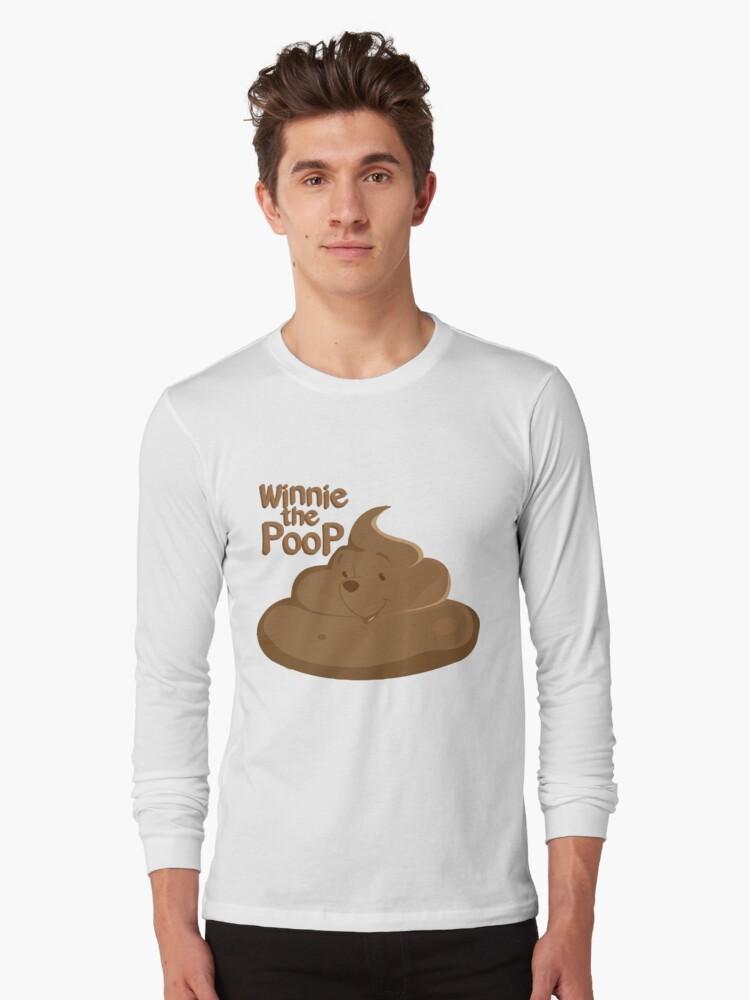 Winnie The Poop Long Sleeve T-Shirt Front