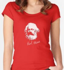 K. Marx Women's Fitted Scoop T-Shirt
