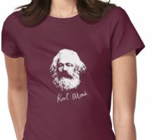 K. Marx Womens Fitted T-Shirt