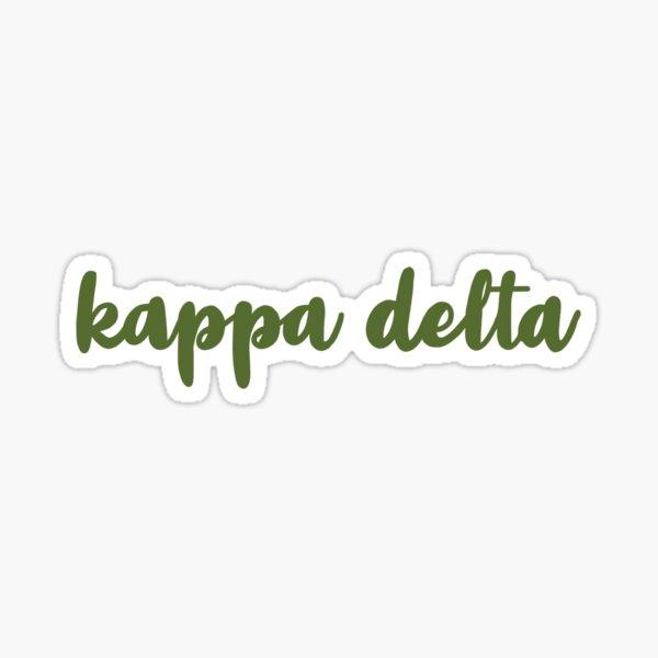 Kappa Delta Sticker