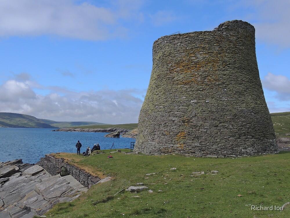 Mousa Broach, Shetland by Richard Ion