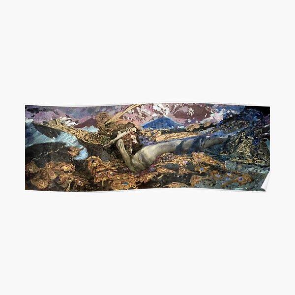 Fallen Demon - Mikhail Vrubel (1856 - 1910) Poster