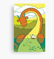 The Big 3: Loch Ness Canvas Print