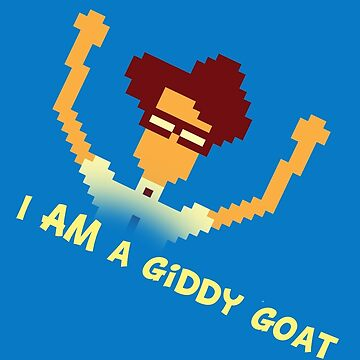 Maurice Moss - I AM a giddy goat (I.T. Crowd Design) by HairyDrummerGuy