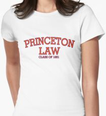 Princeton Law Class of 1851 Women's Fitted T-Shirt