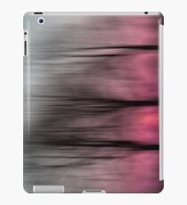 Three Trees in Motion - pink iPad Case/Skin