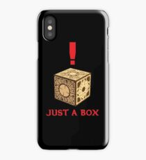Just A Puzzle Box iPhone Case/Skin