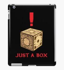 Just A Puzzle Box iPad Case/Skin