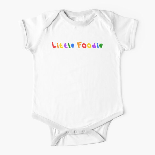 Little Foodie Short Sleeve Baby One-Piece