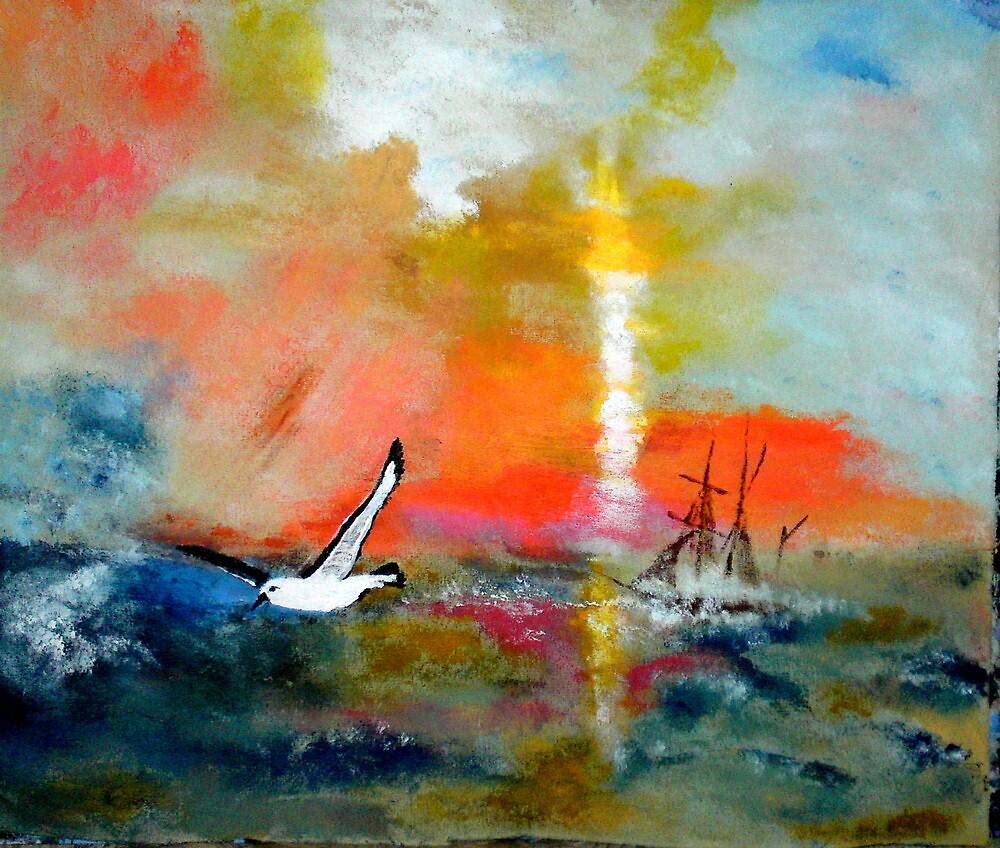 Albatros the Mariners Friend by Joe Scotland