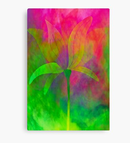 """Magnolia (from """"Painted flowers"""" collection) Canvas Print"""