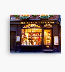 Bettys Tea Room - Stonegate York Canvas Print