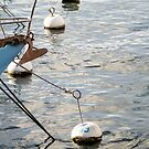 docking boat on the water  by hpostant