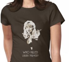 Twin Peaks - Laura Palmer Womens Fitted T-Shirt