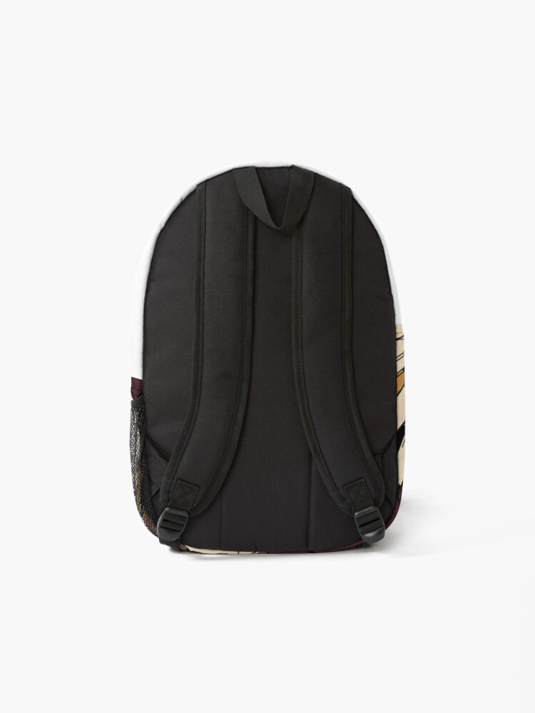 Alternate view of The jungle's forest Backpack
