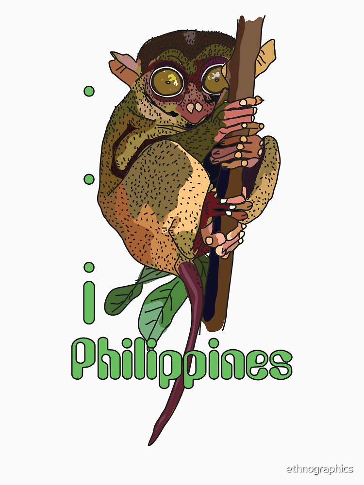 I LOVE PHILIPPINES T-shirt by ethnographics