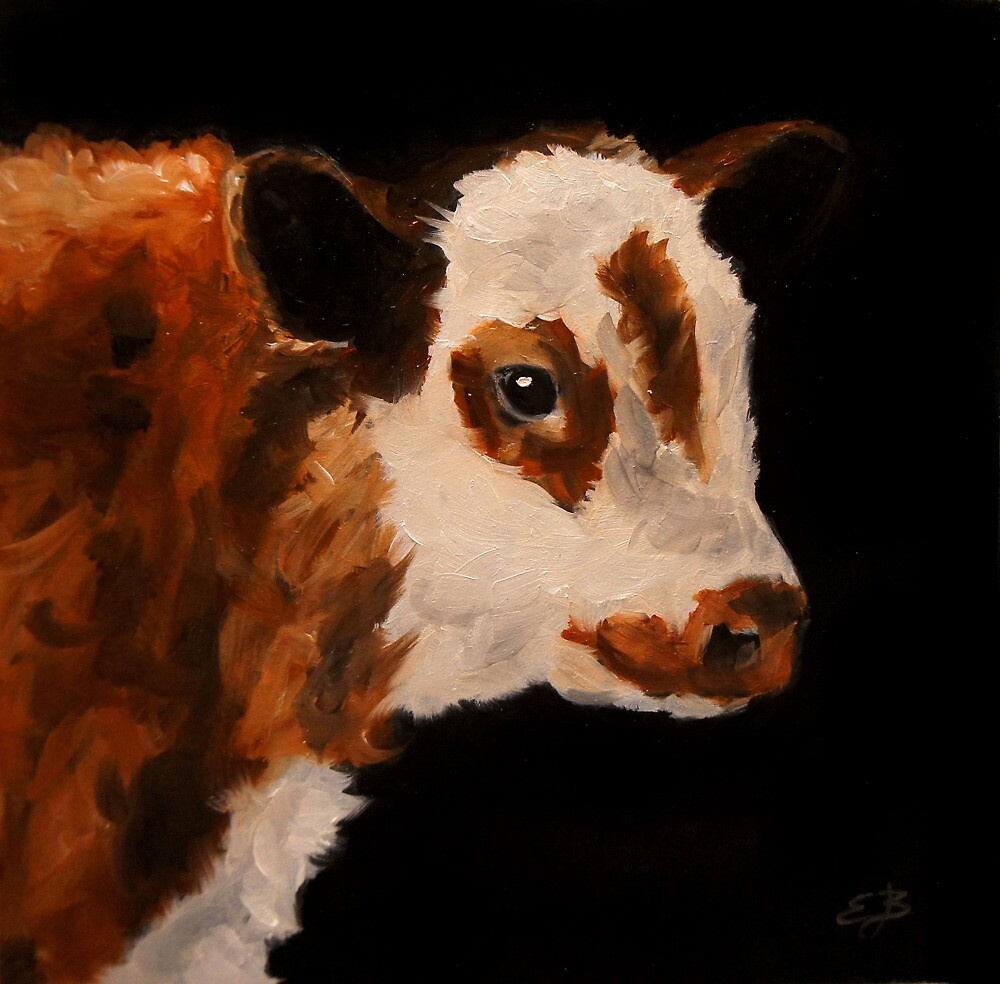 Cow by Elizabeth Barrett