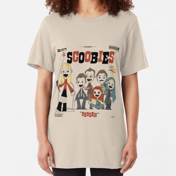 Buffy and the Scoobies Slim Fit T-Shirt