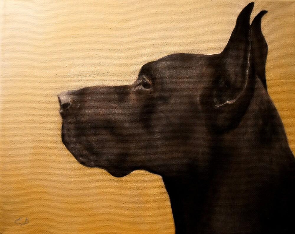 Great Dane by Elizabeth Barrett