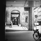 #NeinGrenze - bw Street by OLIVER W