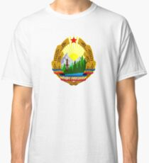 Emblem of Romania, 1965-1989 Classic T-Shirt