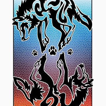 Double Wolf Tribal by SkytheNova