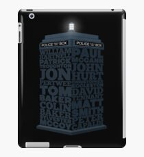 Name of the Doctors iPad Case/Skin