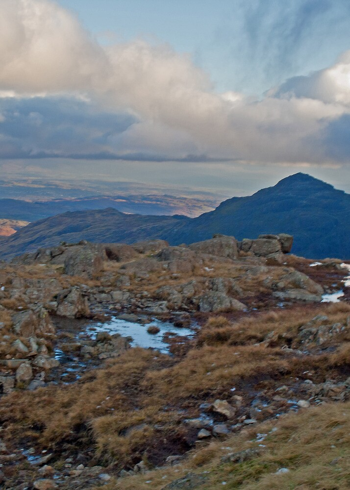 Pike of Blisco, Langdale Valley, Lake District by Rebecca Mason