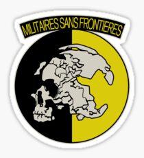 Militaires Sans Frontières Sticker