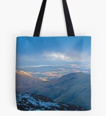Langdale skies, Lake District Tote Bag