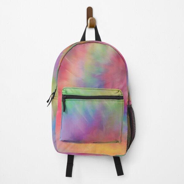 Rainbow Tie Dye Swirl Backpack