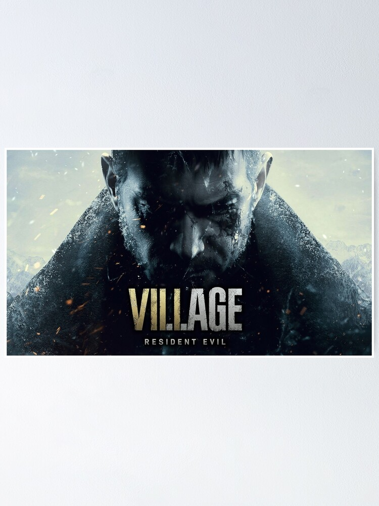Village Resident Evil 8 Wallpaper Poster By Feednseed Redbubble