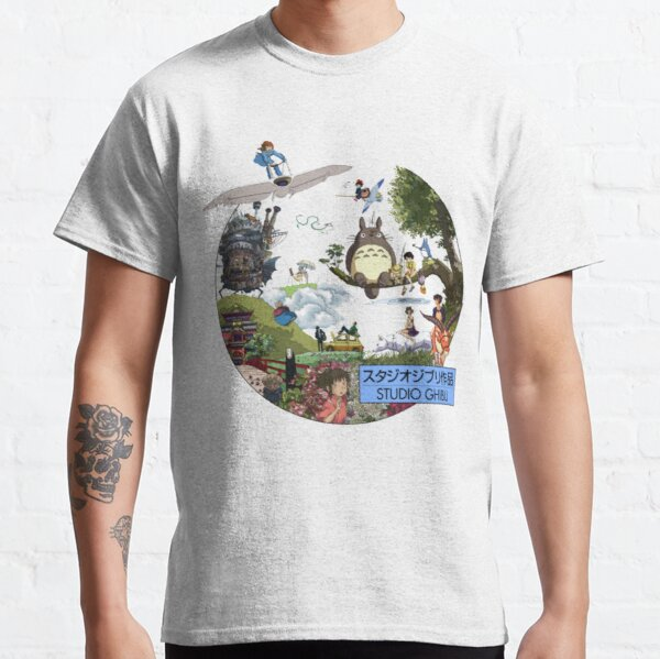 Studio Ghibli 2 Classic T-Shirt