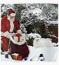 Christmas Morning Poster