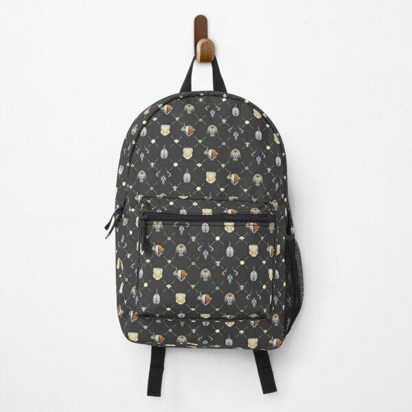 Geometric Destiny Pattern Backpack