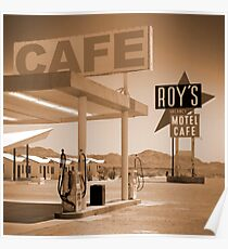 Route 66 - Roy's Motel Poster