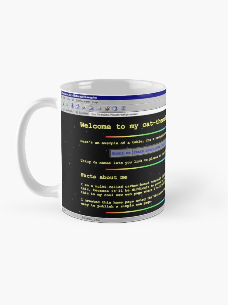 Alternate view of pimanrules on Vistaserv.net Mug